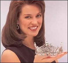 Who was elected most beautiful woman on Kansas in 1996 ?