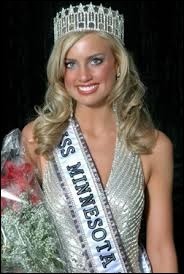 Who was elected most beautiful woman on Minnesota in 2008 ?