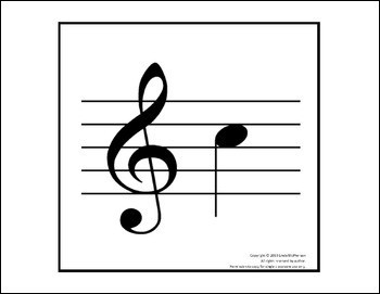 Treble & bass clef note names