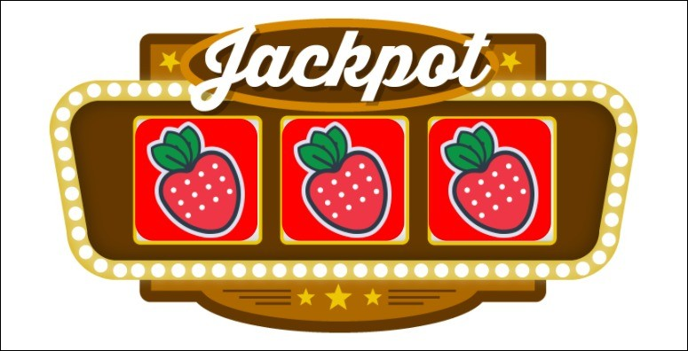 In 1895, in the first slot machine on 3 reels with a mechanical drive, there were 20 card symbols. If there were 3 such symbols in the game, the jackpot was :