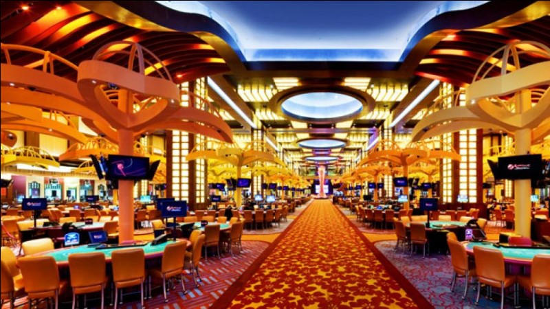 The first gambling centre in the USA is :