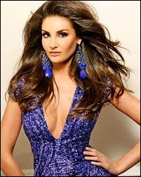 Who was elected most beautiful woman on Louisiana in 2012 ?