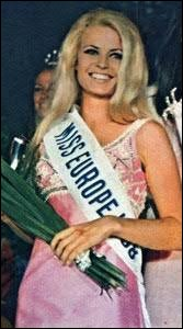 Who was elected as the most beautiful woman on Finland in 1968 ?
