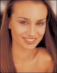 Who was elected as the most beautiful woman on Slovakia in 2003 ?
