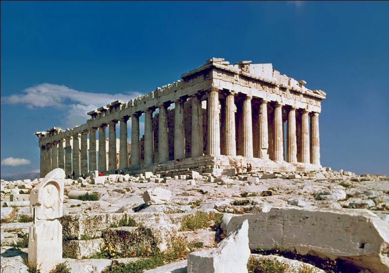 When was the Parthenon built?