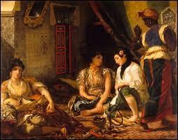 """Who painted """"Femmes d'Alger dans leur appartement"""" ?"""