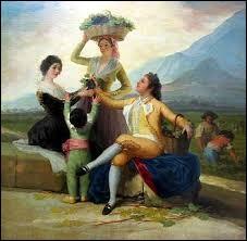 """Who painted """"la Vendimia"""" ?"""