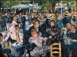 """Who painted """"le Moulin de la Galette"""" ?"""