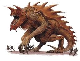What is the name of this legendary creature ?