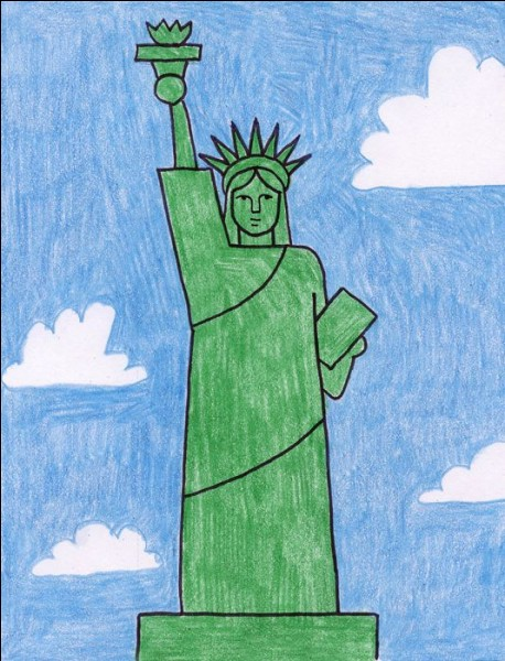 What kind of shoes does Lady Liberty wear?