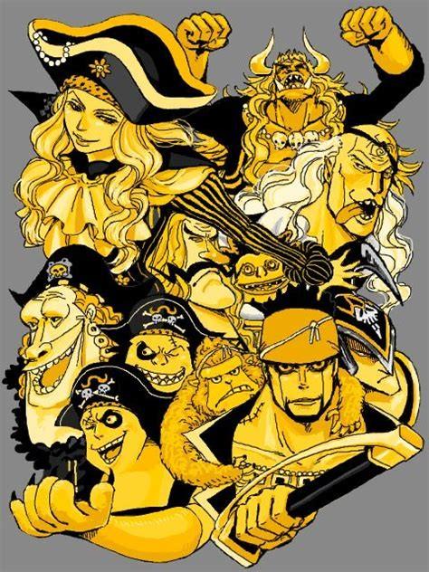 One Piece 'White Beard allies' 1/2