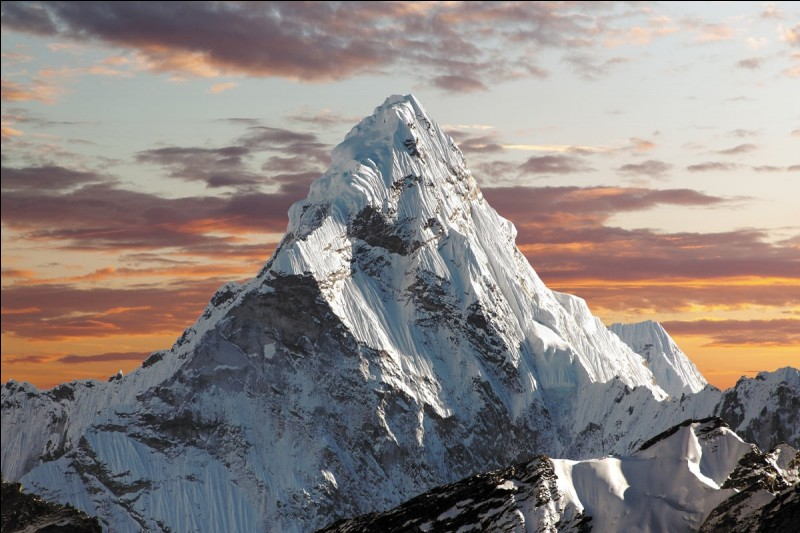 What's the height of Mount Everest?