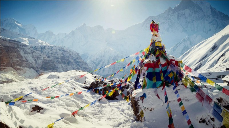 The Nepalese call Mount Everest Sagarmatha. What does it mean?