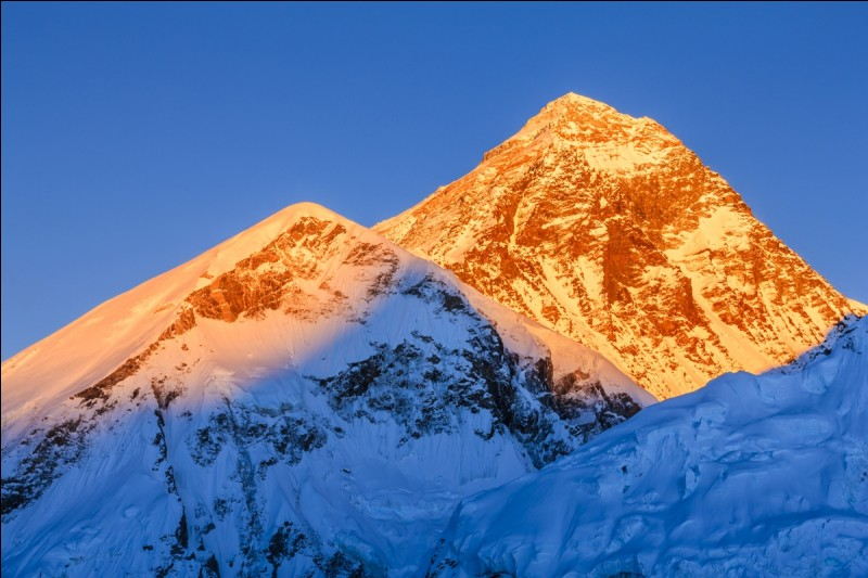 When was Mount Everest formed?