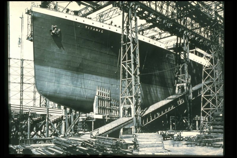 Where was the Titanic built?