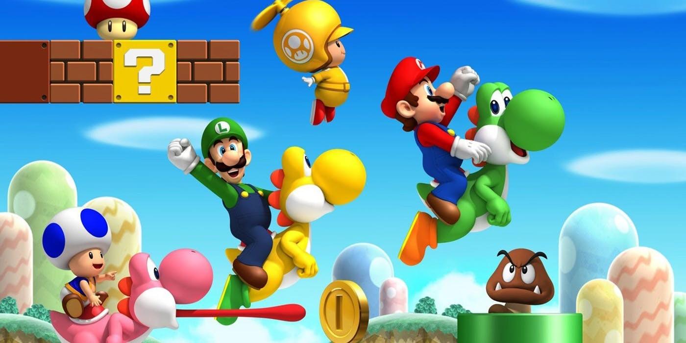 Mario World characters - 1