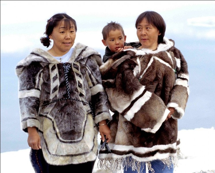 True or false? To kiss, the Inuits rub their noses.