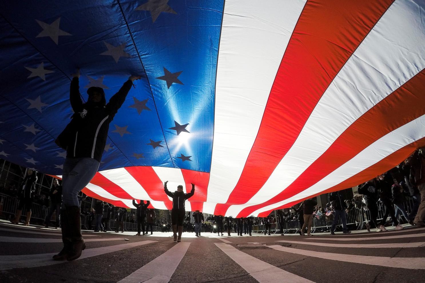 American flags - 1