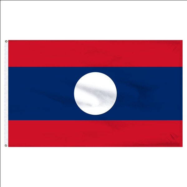 On which continent is Laos?