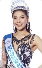 Who was elected Miss Tourism International ?