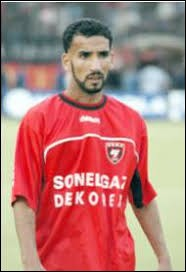 What is the name of this footballer ?