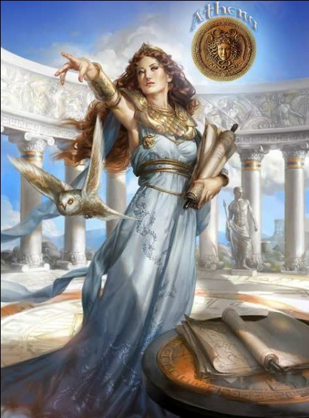 Who is Athena's mother?