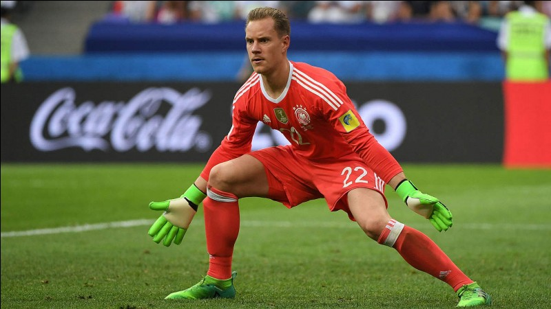 Where does Marc-André ter Stegen play from?