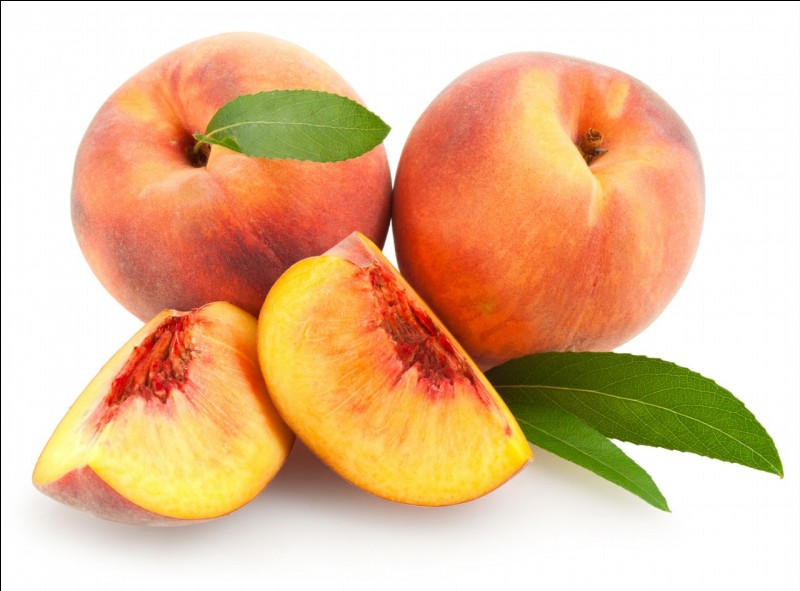 "How do we say ""peach"" in French?"