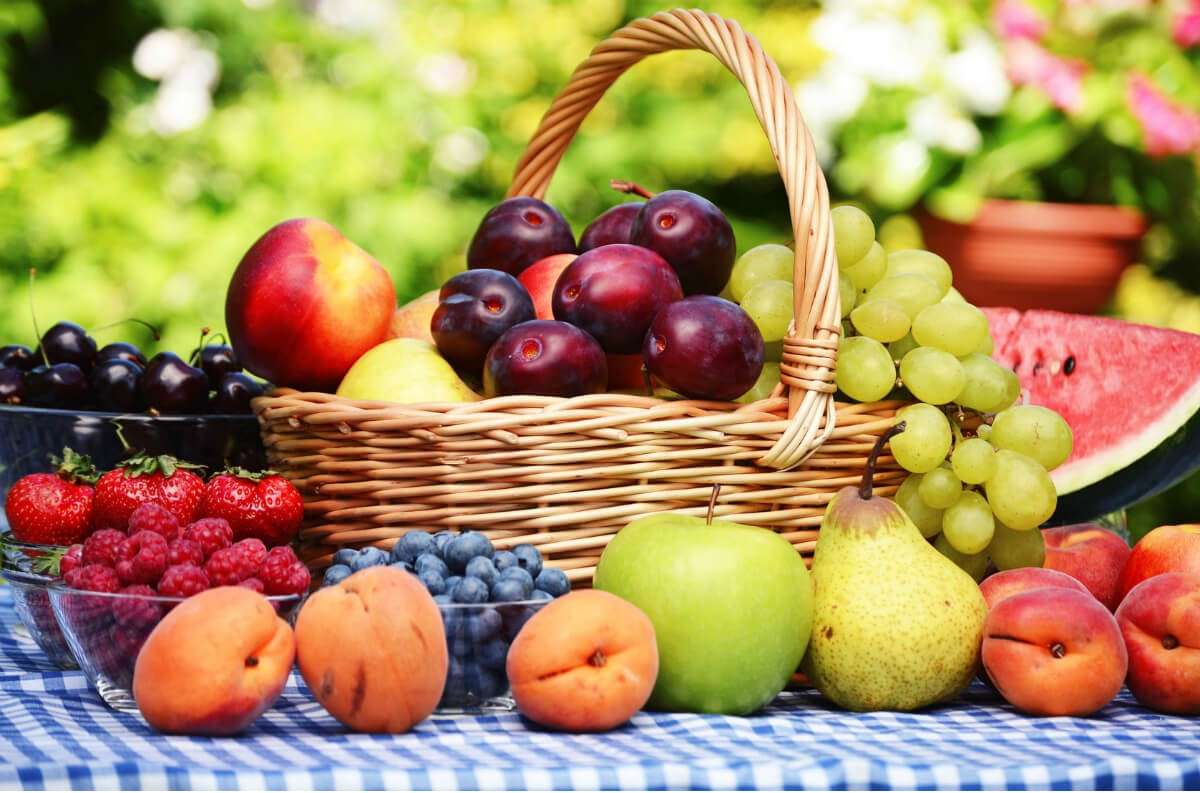 The fruits in French - 1