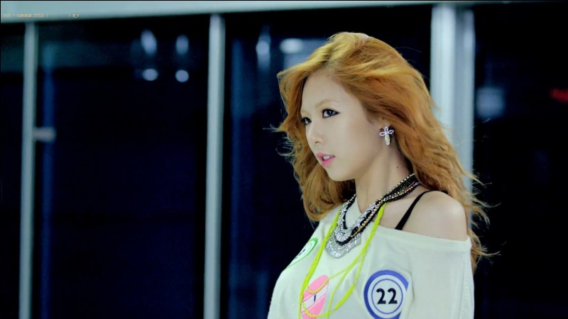 "In 2014, HyunA released her third solo album with MV ""Red"". With which solo artist did she make a famous featuring in 2012?"