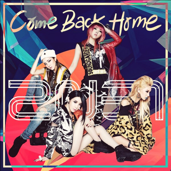 "In March 2014, the girl band 2NE1 released its video ""Come Back Home"" which became one of its biggest hits. Which South Korean agency does the group belong to?"