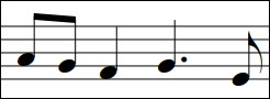 Which is the correct counting for this rhythm?