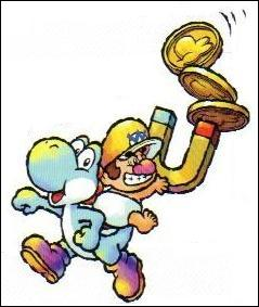 This character is ... (not the Yoshi, the baby ! )