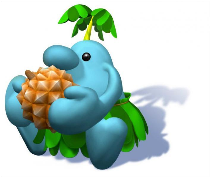 This character is an inhabitant of ile Delfino. Do you know what's this name ?