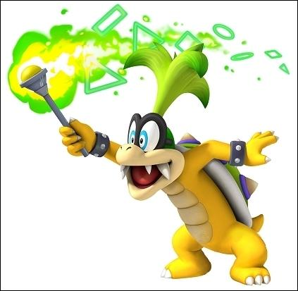 This is one of the eight childrens of Bowser. The name is the same in French. Who is it ?
