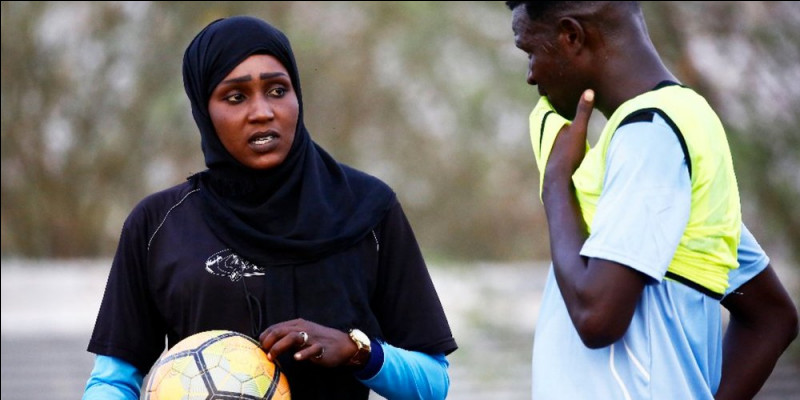 What country is the coach (Soccer) Salma El Majidi from ?