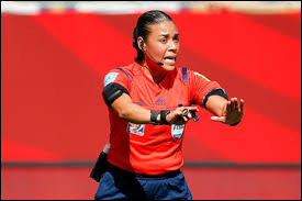What country is the referee (Soccer) Melissa Borjas from ?