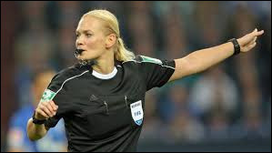What country is the referee (Soccer) Bibiana Steihaus from?