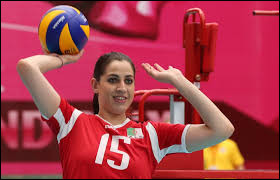 What country the athlete Aicha Mezemate is from ?