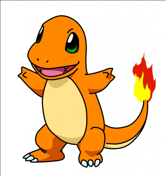 This Pokémon is a fire type, who is it?