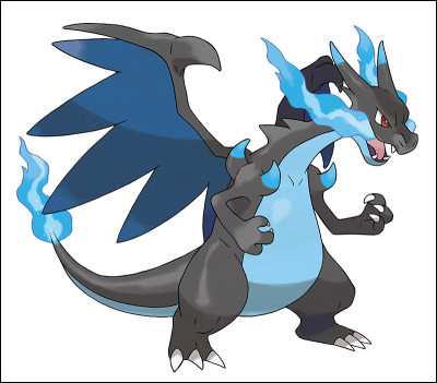 This Pokémon is a mega Evolve fire type, which is it?