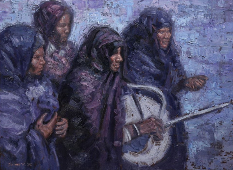 To which artist does this painting belong ?