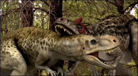 How much food would an alosaurus eat in a day?