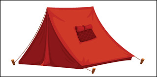Guess the shape of the tent?
