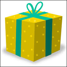 Guess the shape of a gift box?