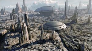 When did we first see Coruscant?