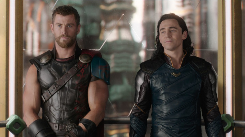 How are Thor and Loki related?