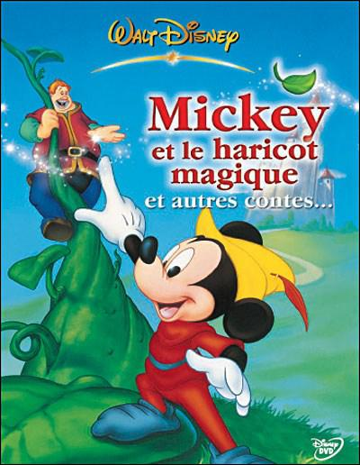 Mickey and the Magic Bean is an adaptation of a popular novel whose young hero is actually named :