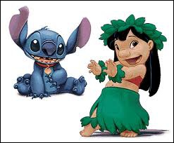What is the name of the little Hawaiian orphan girl who befriends an alien animal ?