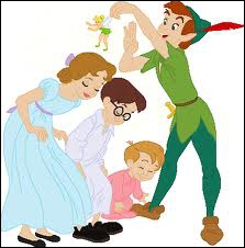 Which of these first names does not correspond to one of Wendy Darling's 2 little brothers ?